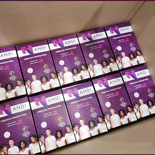 Nandi Sanitary Pad Packaging