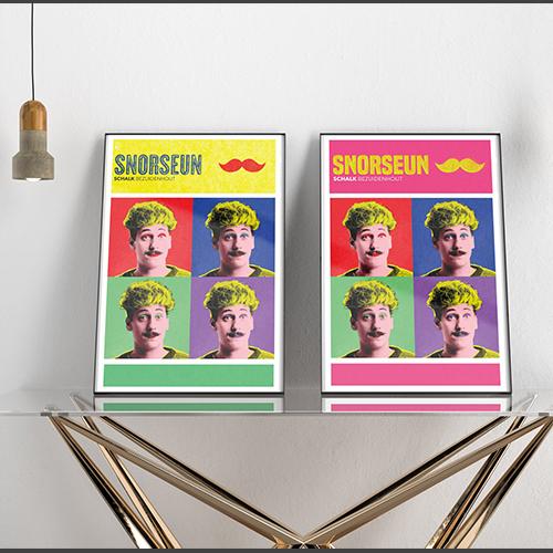 Schalk Bezuidenhout Gig Poster