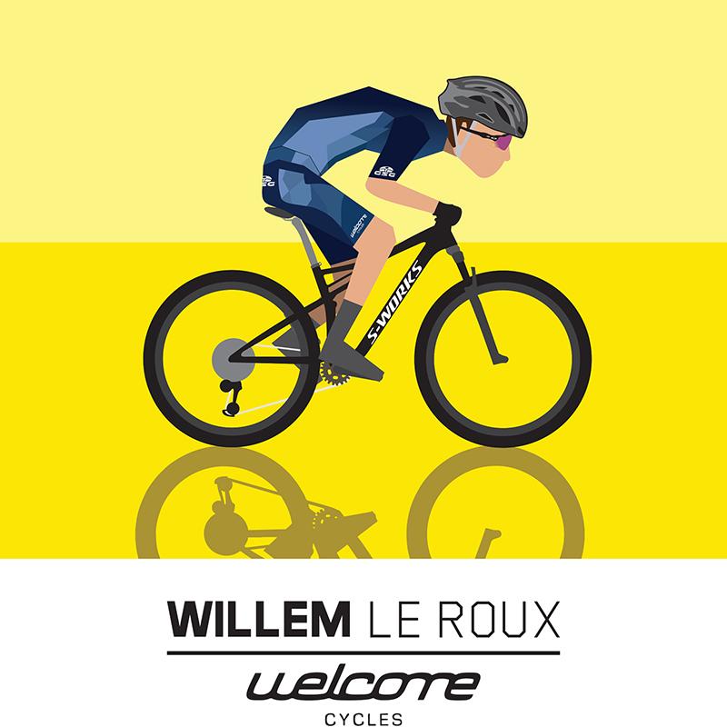 Willem Le Roux Illustration